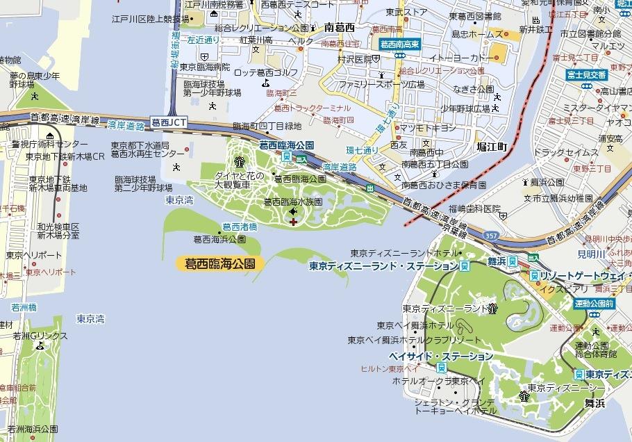 「葛西臨海公園地図」の画像検索結果